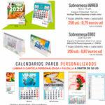 Calendarios en promoción